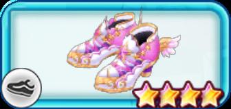 守護天使の羽靴